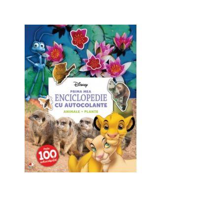 Prima mea enciclopedie cu autocolante. Animale. Plante - Disney