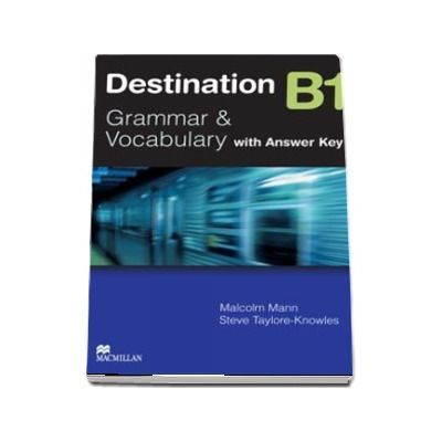 Destination B1 Grammar and vocabulary with answer key