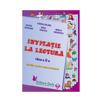 INVITATIE LA LECTURA. AUXILIAR PENTRU ORELE DE LECTURA - CLASA A II-A