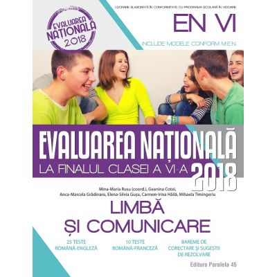 Evaluare nationala la finalul clasei a VI-a Limba si comunicare ( Geanina Cotoi )