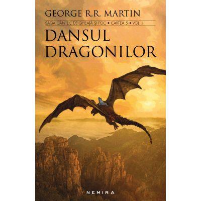 Dansul dragonilor (Saga Cantec de gheata si foc, partea a V-a) 2 vol. - George R. R. Martin
