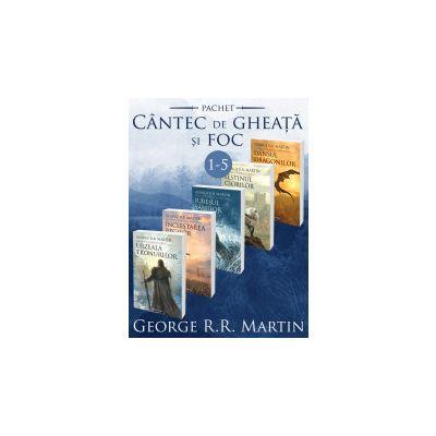 Saga Cantec de gheata si foc 1-5 (ed. 2017) GEORGE R. R. MARTIN