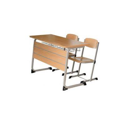 Set Amicii 4N banca si 2 scaune pentru liceu (MBSD04N)