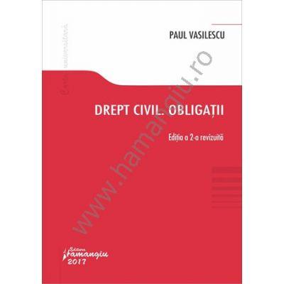 Drept civil. Obligatii - Paul Vasilescu