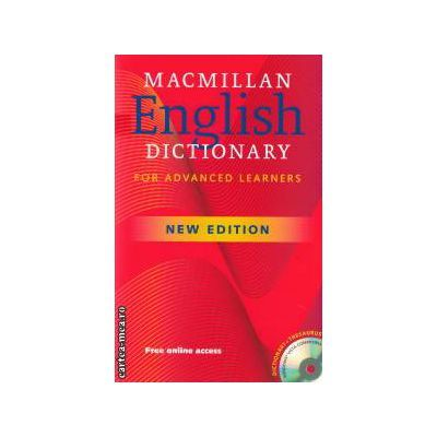 Macmillan English Dictionary - for Advanced Learners 6th Edition with CD - Rom