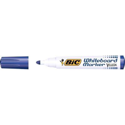 Marker pentru tabla BIC Velleda, varf rotund, 2. 5 mm, albastru ( CT8103 )