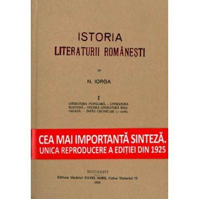Nicolae Iorga - Istoria Literaturii Romanesti 3 volume