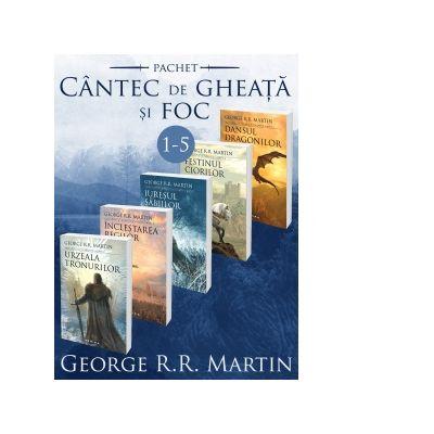 Saga Cantec de gheata si foc 1-5. Editia 2017 - George R. R. Martin
