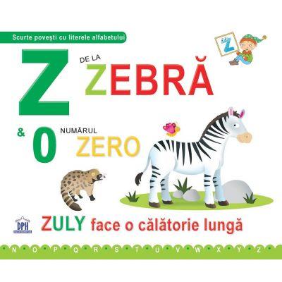Z de la Zebra. Cartonata - Greta Cencetti