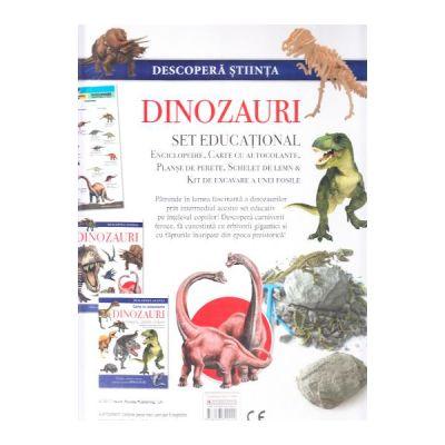 Descopera stiinta. Dinozaurii. Set educational