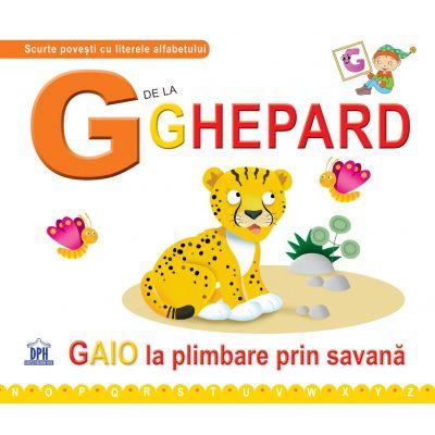 G de la ghepard. Cartonata - Greta Cencetti