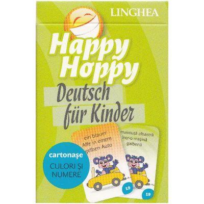 Happy Hoppy. Deutsch fur Kinder. Cartonase - Culori si numere
