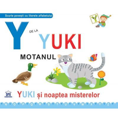 Y de la Yuki, motanul. Cartonata - Greta Cencetti