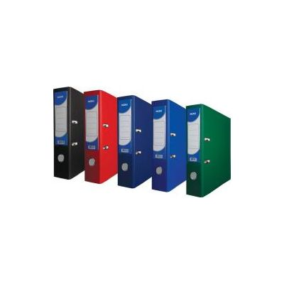 NOKI Biblioraft Noki, A4, 75 mm, PP exterior, carton interior, rosu - Pret/buc (DY000111)