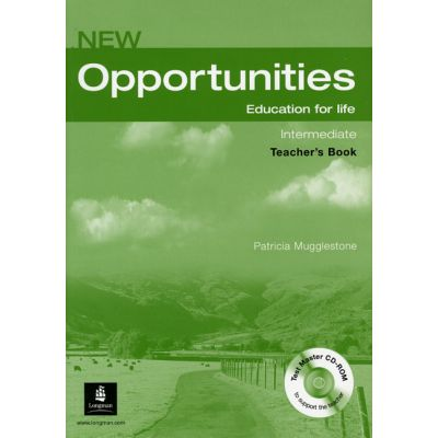 New Opportunities Intermediate Teachers Book with Test Mast - Patricia Mugglestone