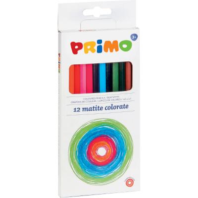 Creioane colorate Morocolor, 12 culori/cutie (MC15528)