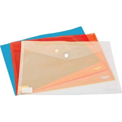 Mapa cu capsa, plastic, albastru (DY001204)