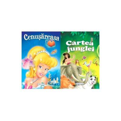 2 Povesti - Cenusareasa si Cartea junglei