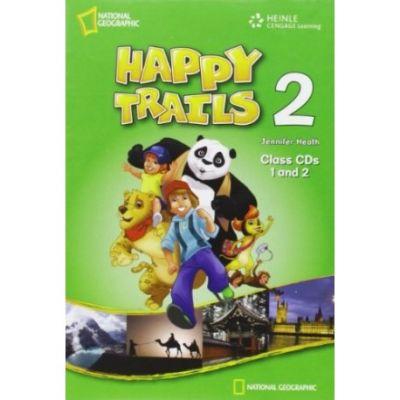 Happy Trails 2 with Audio CD - Jennifer Heath