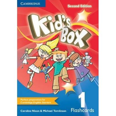 Kid's Box Level 1 Flashcards - Caroline Nixon, Michael Tomlinson