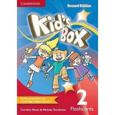 Kid's Box Level 2 Flashcards - Caroline Nixon, Michael Tomlinson