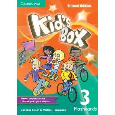Kid's Box Level 3 Flashcards - Caroline Nixon, Michael Tomlinson