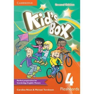 Kid's Box Level 4 Flashcards - Caroline Nixon, Michael Tomlinson