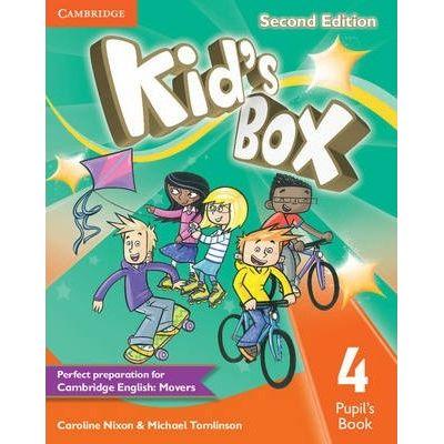 Kid's Box Level 4 Pupil's Book - Caroline Nixon, Michael Tomlinson