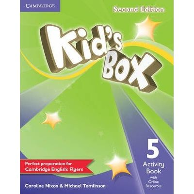 Kid's Box Level 5 Activity Book - Caroline Nixon, Michael Tomlinson