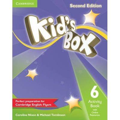 Kid's Box Level 6 Activity Book - Caroline Nixon, Michael Tomlinson