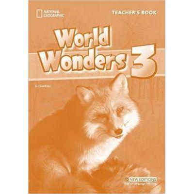 World Wonders 3 Teacher's Book - Katy Clements