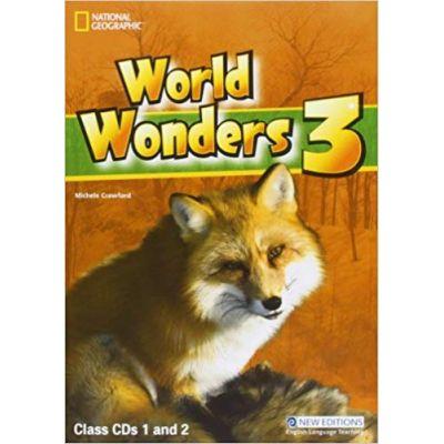 World Wonders 3 class CDs