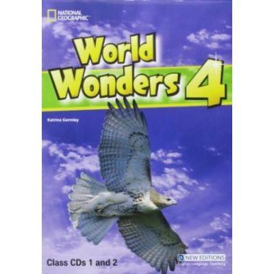 World Wonders 4 class cds