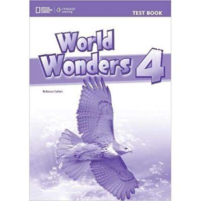 World Wonders 4 Test Book - Michele Crawford