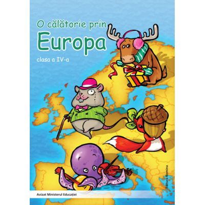 O calatorie prin Europa clasa a IV-a - Alexandrina Dumitru