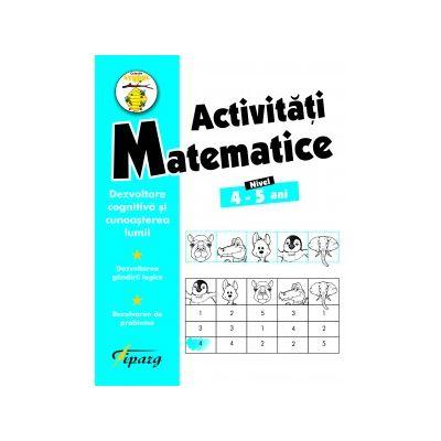 Activitati matematice 4-5 ani - Nicoleta Samarescu