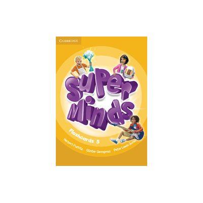 Super Minds Level 5 Flashcards. Pack of 93 - Herbert Puchta, Gunter Gerngross, Peter Lewis-Jones