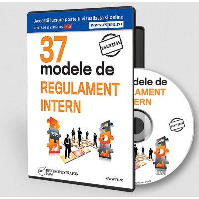 37 modele de Regulament Intern