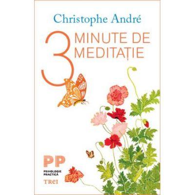 3 minute de meditatie - Christophe Andre. Traducere de Oltea-Mihaela Catineanu
