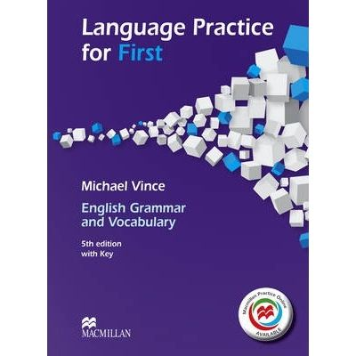 Language Practice for First - 5th edition with Key and MPO - Michael Vince
