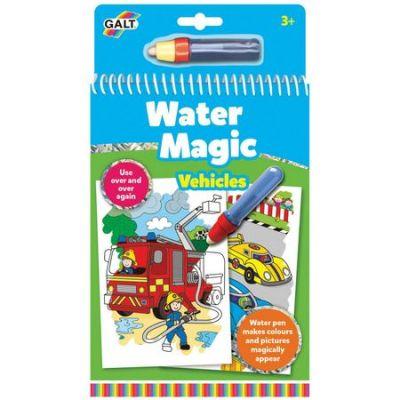 Galt Water Magic: Carte de colorat Vehicule