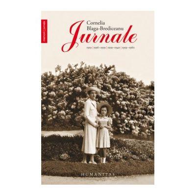 Jurnale 1919, 1936-1939, 1939-1940, 1959-1960 - Cornelia Blaga-Brediceanu