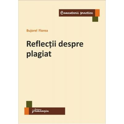 Reflectii despre plagiat - Bujorel Florea
