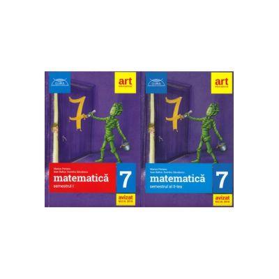 SET MATEMATICA pentru clasa a VII-a. CLUBUL MATEMATICIENILOR - Marius Perianu, Ioan Balica, Dumitru Savulescu