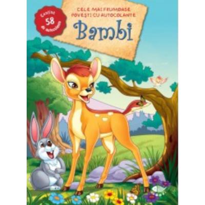 Bambi. Autocolante