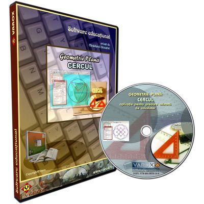Geometrie Plana. Cercul. Aplicatie pentru predare asistata de calculator. CD