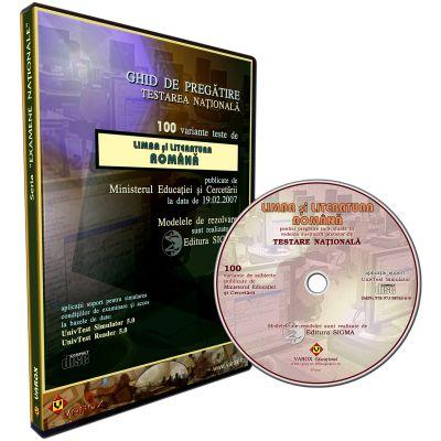 Ghid pregatire-evaluare Limba si literatura romana EN. 100 teste rezolvate. CD