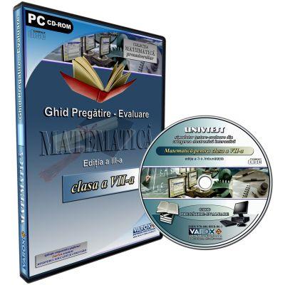Ghid pregatire-evaluare Matematica pentru clasa a VII-a. CD