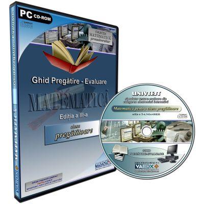 Ghid Pregatire - Evaluare Matematica pentru clasa pregatitoare. CD