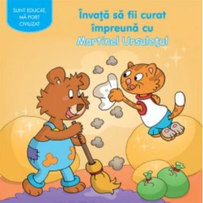 Invata sa fii curat impreuna cu Martinel Ursuletul